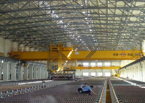 铜电解多功能专用桥式起重机