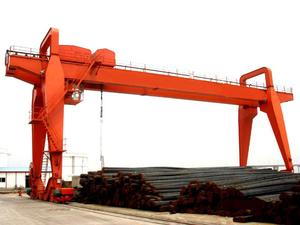 5-20吨双梁抓斗门式起重机