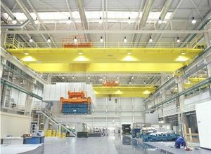 QDY5-74吨吊钩桥式铸造起重机